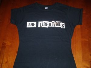 WOMENS `THE LIBERTINES` T-SHIRT